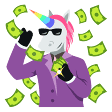 Unicorn Life: Emoji stickers by EmojiOne sticker #13783930