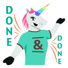 Unicorn Life: Emoji stickers by EmojiOne sticker #13783933