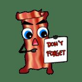 Wanna Bacon? sticker #13874111