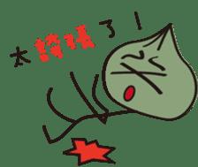 Q large bun sticker #14096892