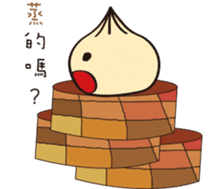Q large bun sticker #14096894