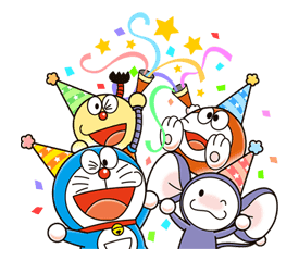 Doraemon & Friends (Fujiko F. Fujio) sticker #26050