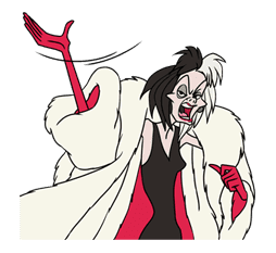 Disney Villains sticker #26549