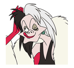 Disney Villains sticker #26557