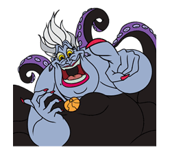 Disney Villains sticker #26558