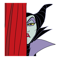 Disney Villains sticker #26574