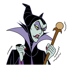 Disney Villains sticker #26577