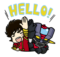 Mazinger Z sticker #30289