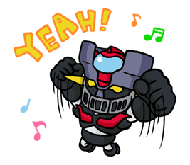 Mazinger Z sticker #30292