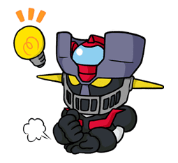 Mazinger Z sticker #30299