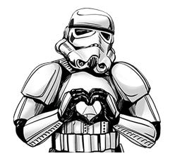 Star Wars Imperial Sticker Collection sticker #42063