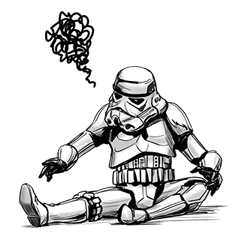 Star Wars Imperial Sticker Collection sticker #42071