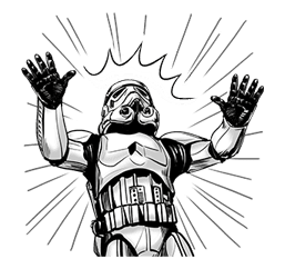Star Wars Imperial Sticker Collection sticker #42072