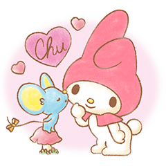 My Melody: Sweet Story ©'76,'14 SANRIO?| elPortale | Sell LINE Sticker, Sell LINE Theme