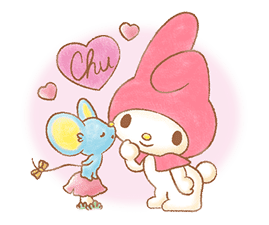 My Melody: Sweet Story sticker #50699