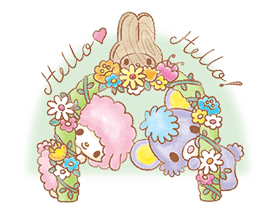 My Melody: Sweet Story sticker #50705
