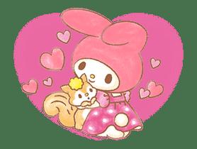 My Melody: Sweet Story sticker #50706