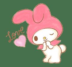 My Melody: Sweet Story sticker #50707