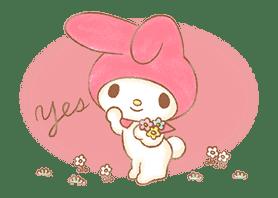 My Melody: Sweet Story sticker #50708