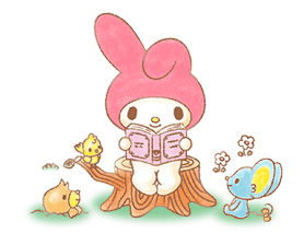 My Melody: Sweet Story sticker #50712