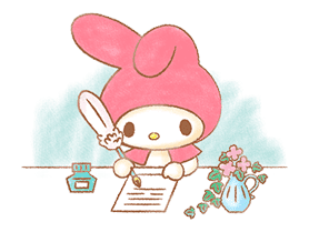 My Melody: Sweet Story sticker #50716