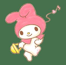 My Melody: Sweet Story sticker #50718