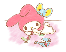 My Melody: Sweet Story sticker #50723