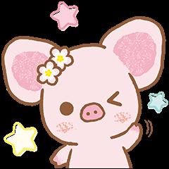 Piggy girl's Pinkish Days