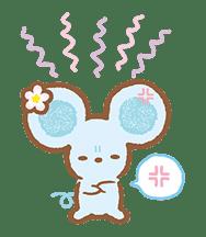 Piggy girl's Pinkish Days sticker #69896