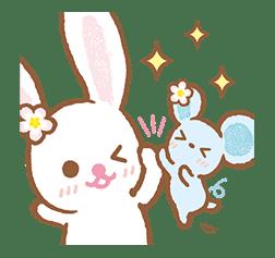 Piggy girl's Pinkish Days sticker #69903