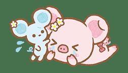Piggy girl's Pinkish Days sticker #69924