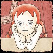 สติ๊กเกอร์ไลน์ Anne of Green Gables