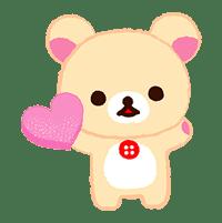 Rilakkuma Sweets sticker #79781