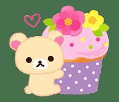 Rilakkuma Sweets sticker #79783