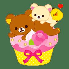 Rilakkuma Sweets sticker #79787