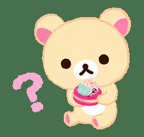 Rilakkuma Sweets sticker #79789