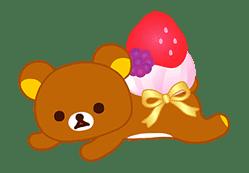 Rilakkuma Sweets sticker #79793