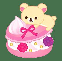 Rilakkuma Sweets sticker #79802