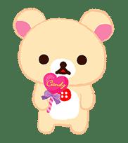 Rilakkuma Sweets sticker #79807