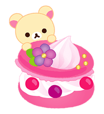 Rilakkuma Sweets sticker #79809