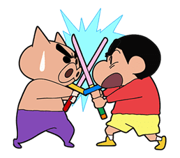 Crayon Shin-chan Part4 sticker #640522