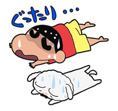 Crayon Shin-chan Part4 sticker #640529