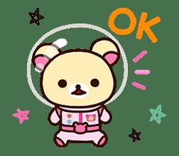 Rilakkuma's Lazy Life sticker #693980