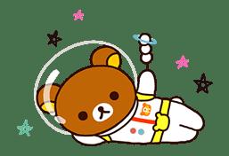 Rilakkuma's Lazy Life sticker #693984