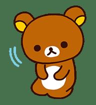 Rilakkuma's Lazy Life sticker #693994