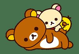 Rilakkuma's Lazy Life sticker #694002