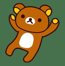 Rilakkuma's Lazy Life sticker #694005