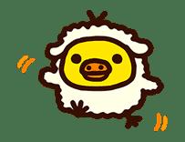 Rilakkuma's Lazy Life sticker #694006