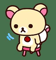 Rilakkuma's Lazy Life sticker #694009