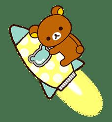Rilakkuma's Lazy Life sticker #694010